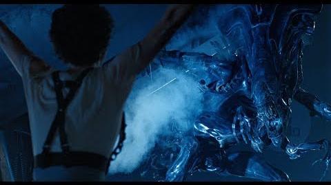 Aliens 1986 Final Ellen Ripley vs Xenomorph Queen 4K