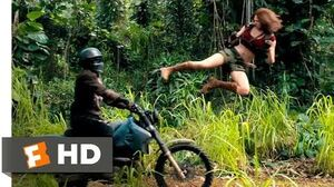 Jumanji Welcome to the Jungle (2017) - Motorcycle Assault Scene (2 10) Movieclips