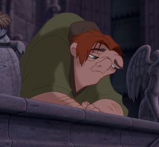 Quasimodo longing for freedom