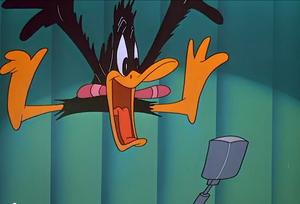 Daffy scream