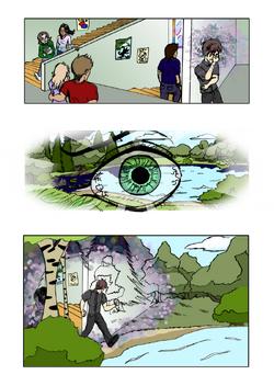 A comic page