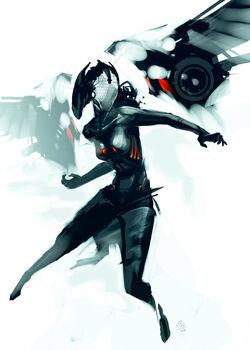 Black widow by WhoAmI01