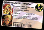 Superhuman ID card