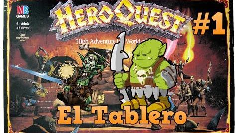 Heroquest en El Tablero 1 Vassal. Grey y Paco duo humoristico.