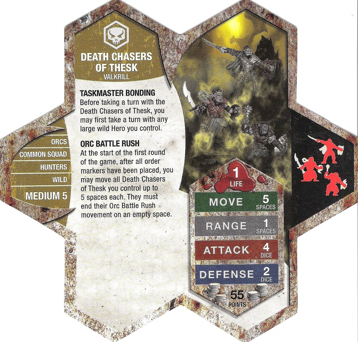 Death Chasers Of Thesk Heroscape Wiki Fandom Powered By Wikia