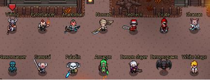 Classes hero siege