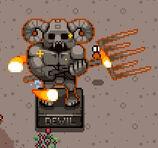 Devil Statue