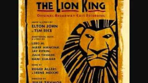 The Lion King Broadway Soundtrack - 01