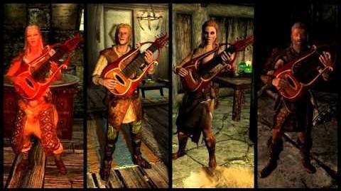 Skyrim - Tale of the Tongues Bard Quartet