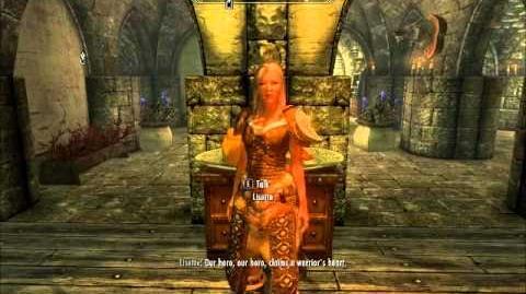 """Lisette - """"The Dragonborn Comes"""" (Skyrim)"""