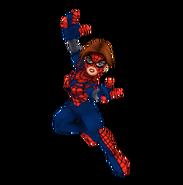 Spider-girl full body