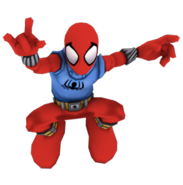 Scarlet spider full body