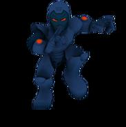 Stealth armor iron man full body