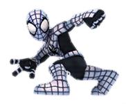 Armored spider man full bod