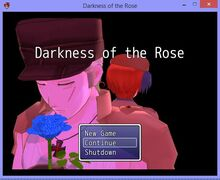 Darkness of the rose by sabbybina-d8r8crd