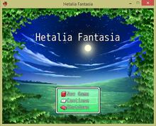 Hetalia Fantasia Title