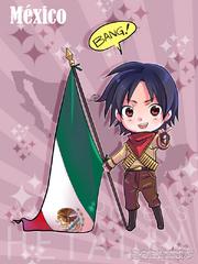 APH Chibi Mexico by harususaku