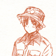 UK in a uniform. From Vol.3 Special Edition.