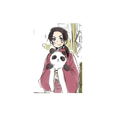 China with his panda in Prussia's Blog.