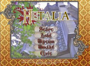 Gakuen hetalia title screen