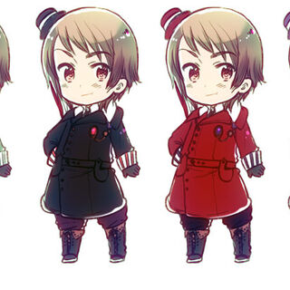 Romania's military uniform in multiple color schemes