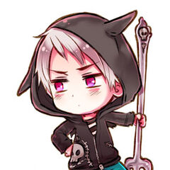 Prussia in his 2010 Halloween Costume.