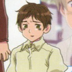 A young Spain in clothes seen from the anime.
