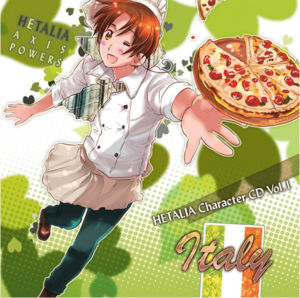 Hetalia Character CD Vol.1- Italy
