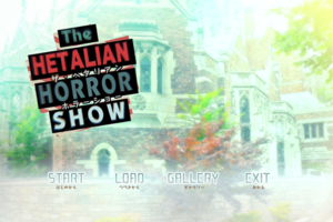 Hetalian horror show menu