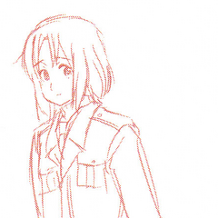 A sketch of Lithuania from the volume 2 booklet.