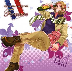 Hetalia France CD