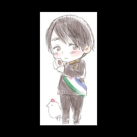 Chibi sketch of Niko Niko