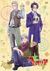 Hetalia DVD vol 6