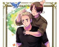 Itaria and Doitsu