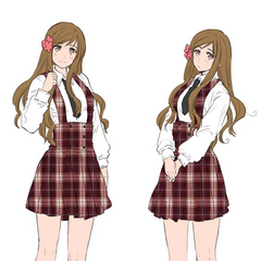 Hungary's Gakuen clothing (Coloured).