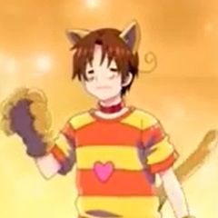 Italy in his Halloween costume he wore in the second Extra Episode.