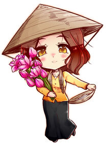 Republic of Vietnam (South Vietnam ) | Hetalia Fan