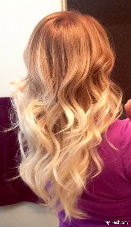 Strawberry Blonde Ombre Hair Hair Color Ideas And Styles For 2018