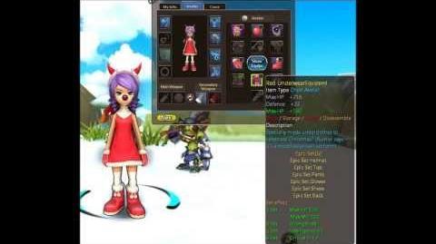 Heva Clonia Online Winter Outfit Reward
