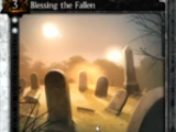 Blessing the Fallen