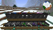Tinkers' Construct - Pickaxes - All Picks