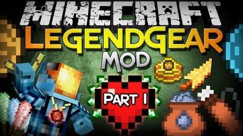 Minecraft Mod Showcase LegendGear - Part 1 - Legend of Zelda Inspired Elements!