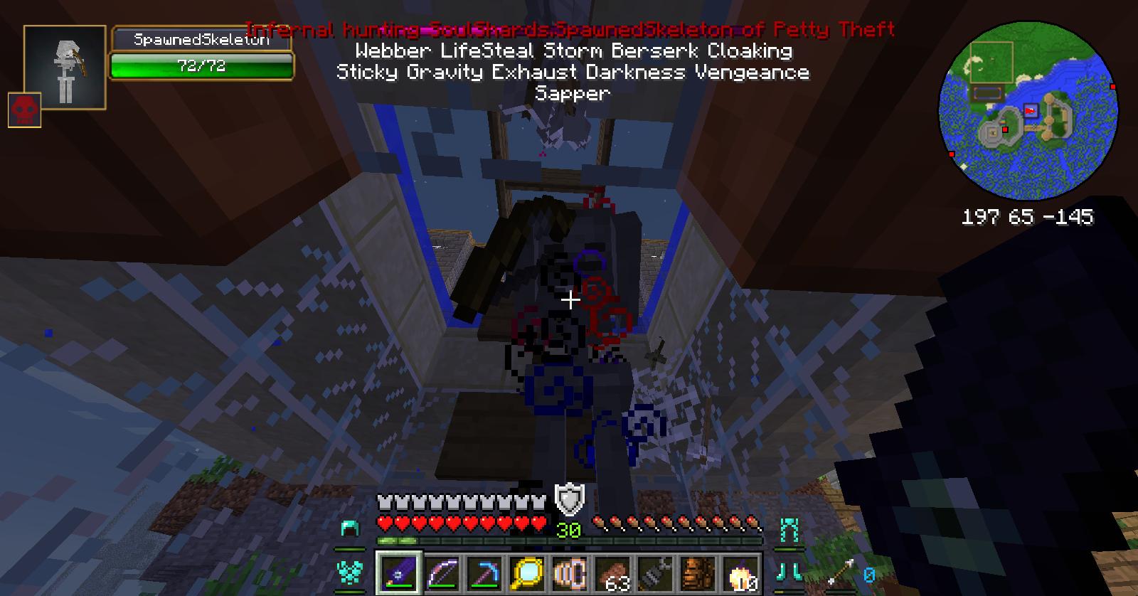 Infernal Mobs Hexxit Wiki FANDOM Powered By Wikia - Minecraft teleport player to mob