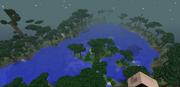 Twilight lake