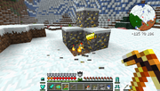 Tinkers' Construct - Gold Gravel Ore - Fiery Pick