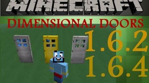 Wylker Spotlights Minecraft Dimensional Doors tutorial