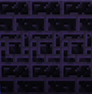 Tinkers Construct - Obsidian Bricks - Fancy in Middle