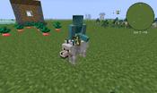 Blue Golbing Riding A Wolf