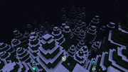 ExtrabiomesXL - Snowy Rainforst - Aerial View