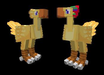 Female Male Chocobo 01